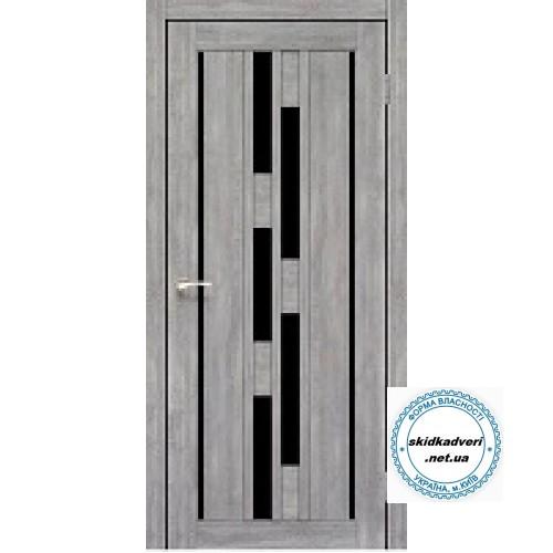 межкомнатные двери с черным стеклом