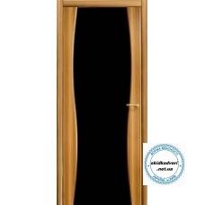 Грация зебрано черное стекло